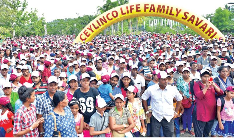 A section of the crowd at Family Savari 11 at Leisure World