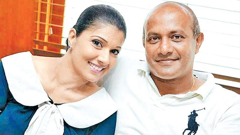 Head of Sri Lanka women's cricket, Apsari Tillakaratne with her husband and former Sri Lanka captain Hashan Tillakaratne