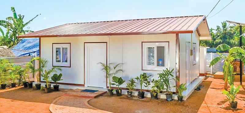 The government's previous plan to build prefabricated steel houses as modeled above by a Luxembourg-based firm Arcelor Mittal headed by Indian billionaire, Lakshmi Niwas Mittal has been scrapped