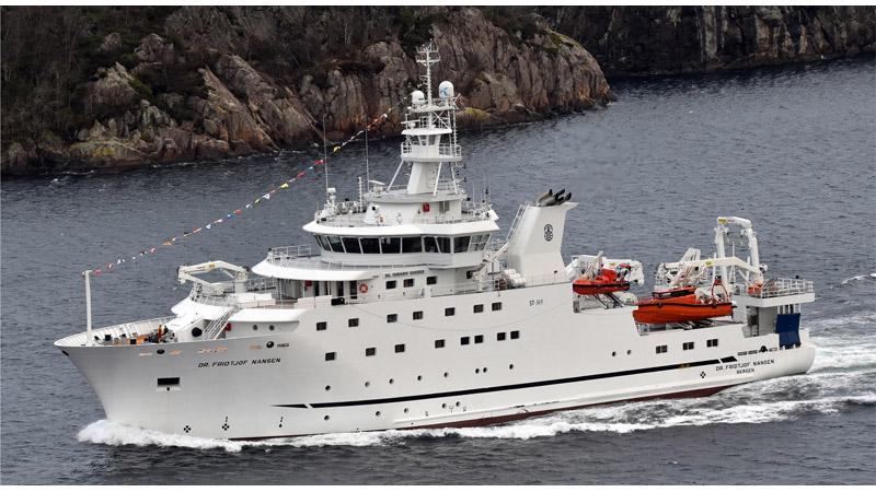 Research Vessel Dr Fridtjof Nansen