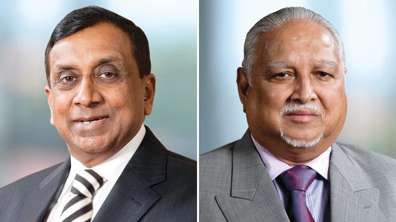 J.M.S. Brito and Harry Jayawardena