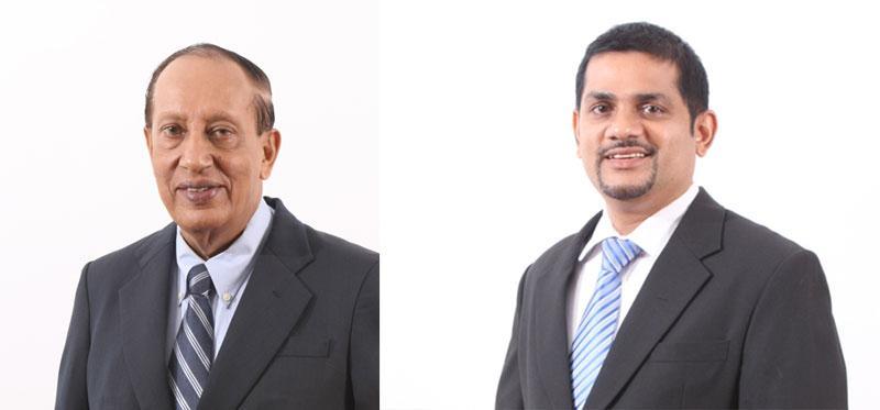 Chairman and CEO Dr Prathap Ramanujam & GM and Executive Director  Pathmanatha Poddiwala