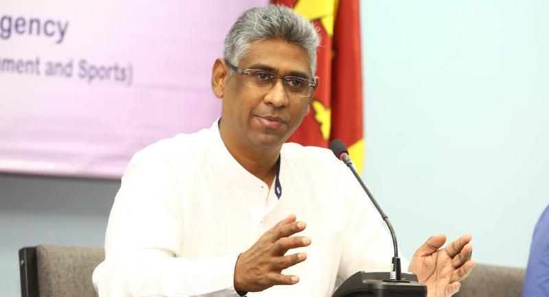 Sports Minister Faizer Mustapha
