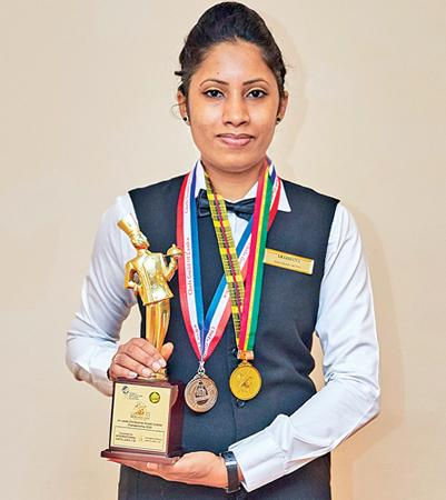 Aradhana Liyanage, Gold Excellence Award winner