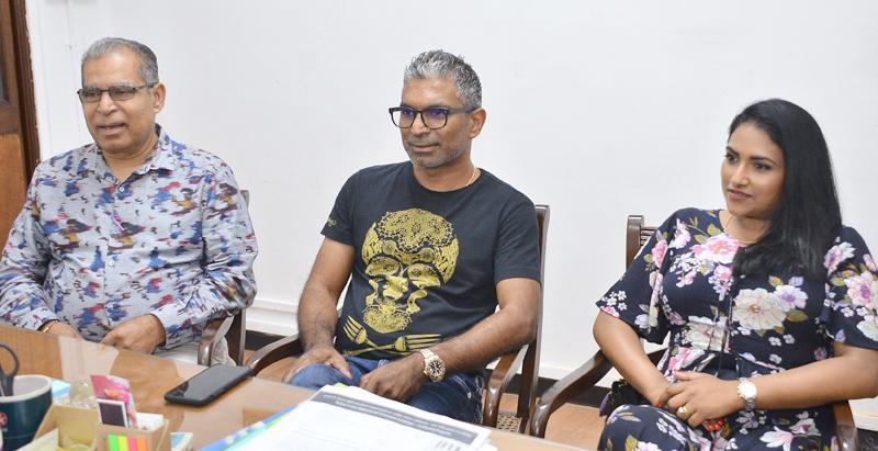 At the launch of Welenda.com  Pic: Saman Mendis