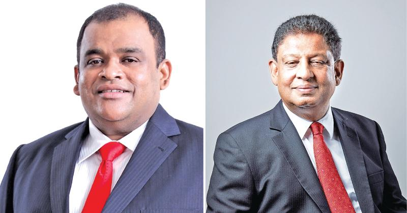 Dhammika Perera and J.A.S. Sumith Adhihetty