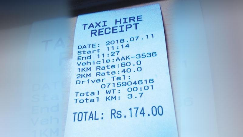 The installation of taxi meters with the capability of issuing printed bills would be compulsory from August 1