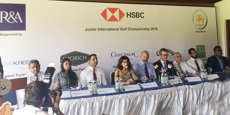 Sri Lanka golf juniors take on Asian players in showpiece