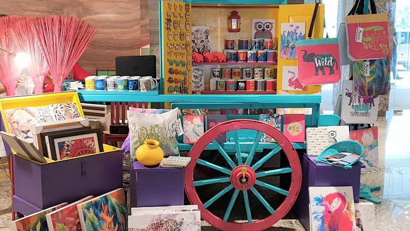 Bakamuna products on a bullock cart