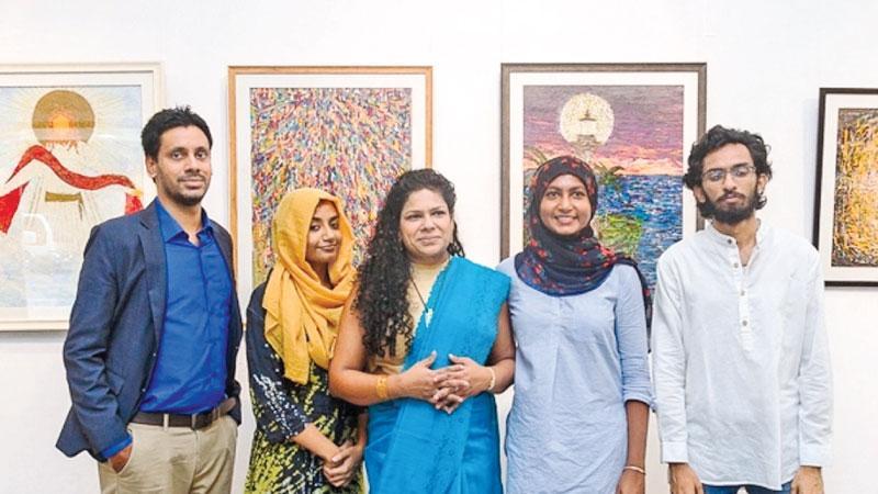 Kesera Ratnavibhushana, Aamina Nizar, Chandrika Maelge, Nuzaifa  Hussain and Hilusha  Hewagama.