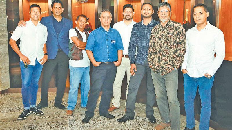 Ready to rock: Blue Elephant DJs prepare to share the music. Pic: Shan Rambukwella