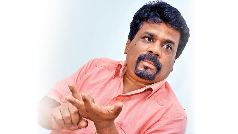 Leader of JVP, Anura Kumara Dissanayake M.P.
