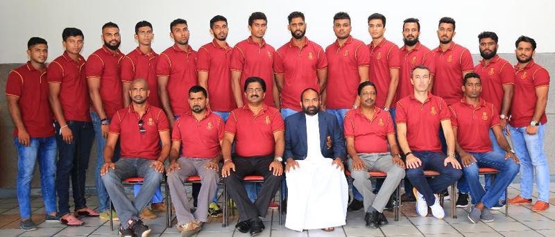 The tour squad: Shamil Malinda Silva (Army), Janitha Surath (Ports Authority), Deepthi Romesh Ranawaka (Ceylon Electricity Board), Chamara Mihiran (Army), Gayan Madusanka Peremaratne (Ceylon Electricity Board), A.W. Lakmal (Ceylon Electricity Board), Ramesh Prasanne Sudasinghe (Air Force), Ayesh Dilhan Perera (Ceylon Electricity Board), Lasindu Methmal Wasanthapriya (Army), Kasun Chathurana Fernando (Ceylon Electricity Board), Wasantha Lakmal (Army), Dhanushka Dilshan Fernando (Air Force), Malith Dinidu Cha