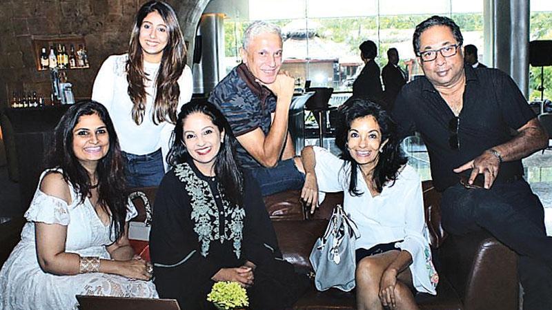The team behind Threads of Time L –R seated: Anita, Kavita, Anusha, standing L – R : Merisha, Brian and Imran