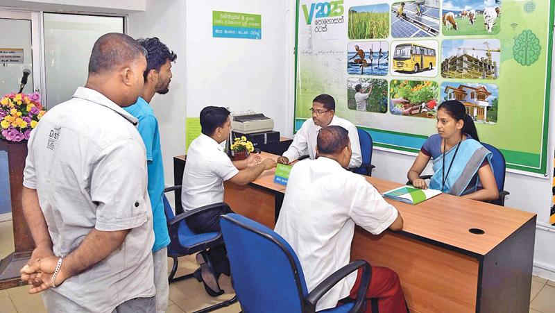 Entrepreneurs seeking loans under Enterprise Sri Lanka loan schemes.