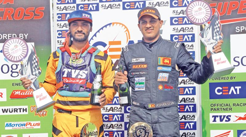 Ashan Silva (right) and Ishan Dassanayake
