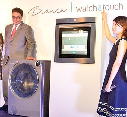 The washing machine and oven   Pic: Vipula Amarasinghe