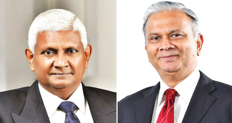 Ceylinco Life Managing Director/CEO R. Renganathan and Director/Deputy CEO Thushara Ranasinghe