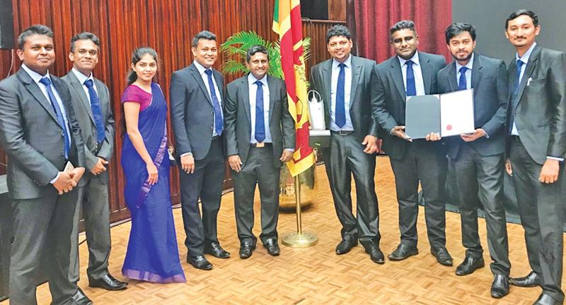 The Forbes Marshall Lanka team