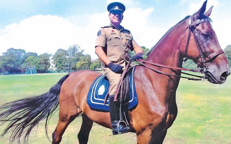 SSP, Damyantha Wijesri - Director Police Mounted Division