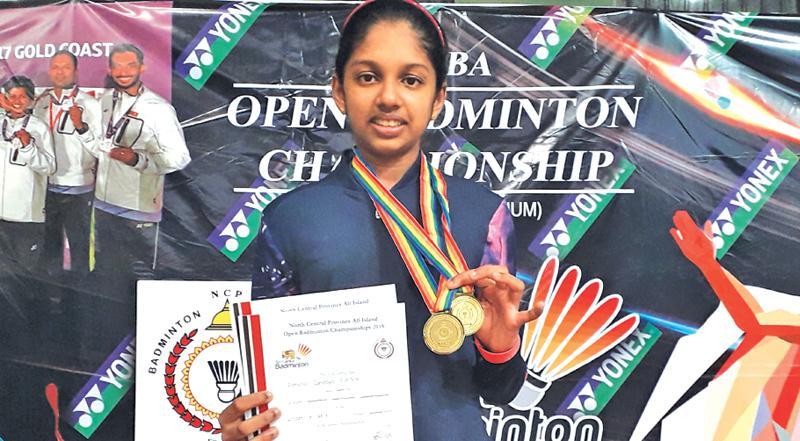 Panchali Adikari: Champion at the tournament in Anuradhapura