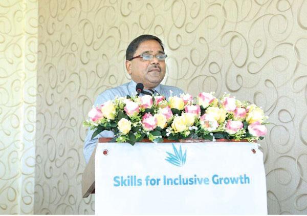 The chief guest District Secretary N.A.A. Pushpakumara