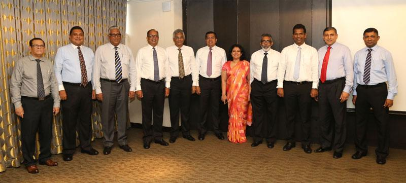 The founder office bearers and first executive committee of the Palm Oil Industry Association (from left): Gayan Samarakone, Bhathiya Bulumulla, Lalith Obeyesekere, Vish Govindasamy (Vice President), Dr Rohan Fernando (President), Sajjad Mawzoon (Vice President), Mrs Oshadhi Kodisinghe (Secretary), Ravi Jayatilleke (Treasurer), Thishan Karunasena, Manjula Narayana and Manoj Udugampola. (Absent: Binesh Pananwala)