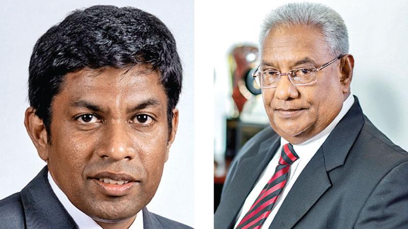 Chief Executive Officer SriLankan Catering, Lalith Vithana     & Chairman SriLankan  Airlines and SriLankan Catering, Ranjit Fernando