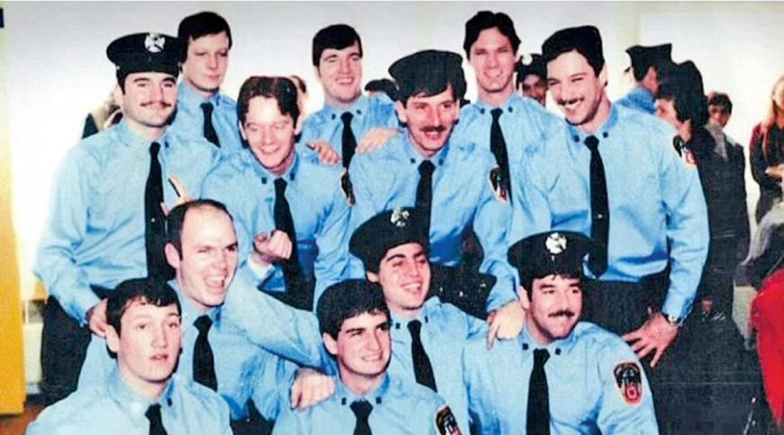 Steve Buscemi and his FDNY team.