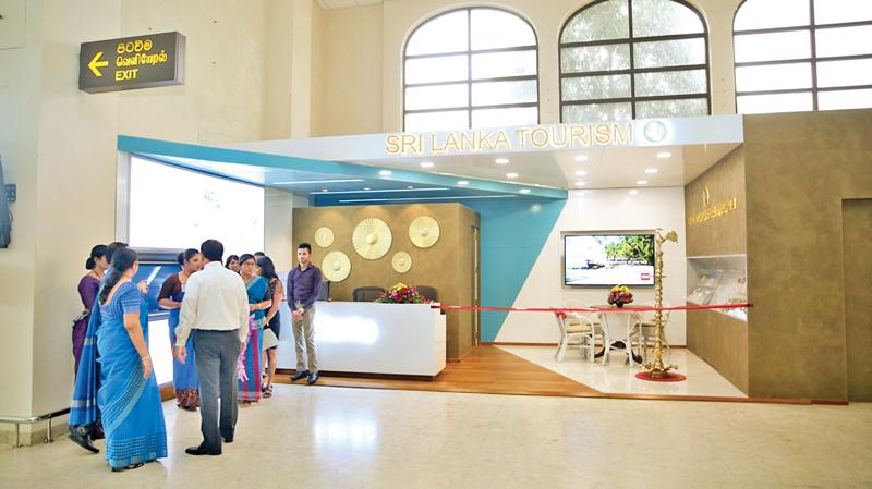 The renovated Tourist Information Centre
