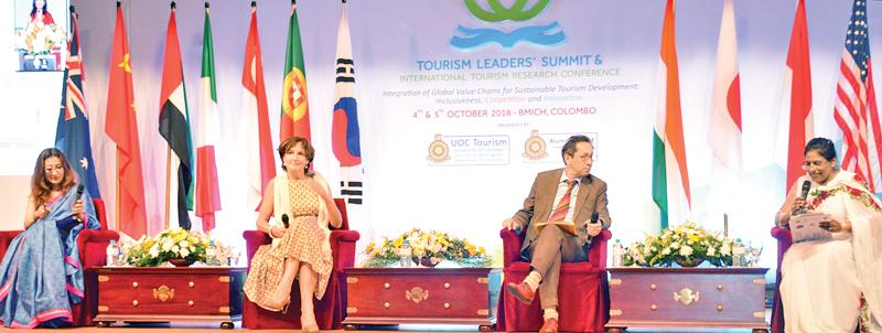 The resource persons at the Summit (Pic: Sarath Pieris)