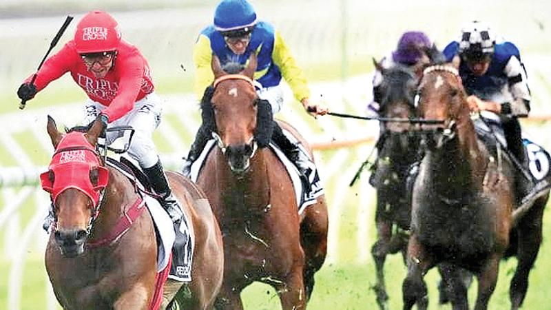 Redzel(left) with Kerrin McEvoy rides to victory