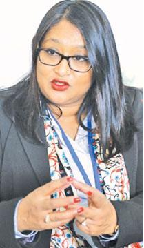 Dr Saima Wazed Hossain Pic: Chinthaka Kumarasinghe