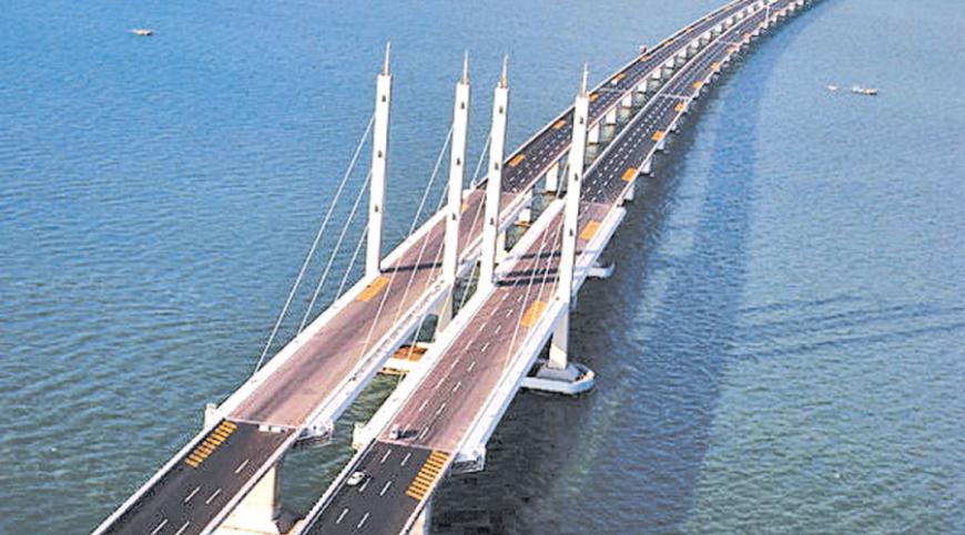 Hong Kong, Zhuhai and Macau bridge