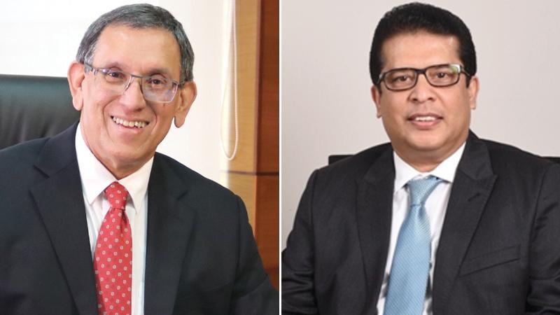 Chairman Royle Jansz and  CEO Lakshman Silva