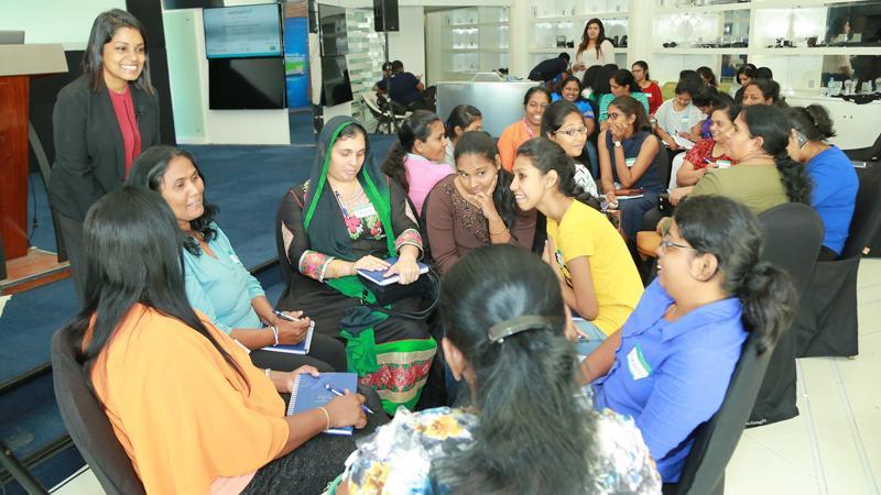 The 'WomenWill' workshop in progress