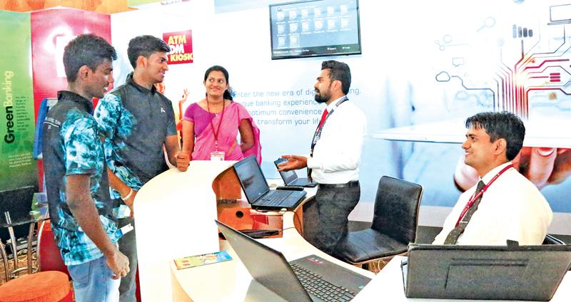 The People's Bank's state-of-the-art digital stall