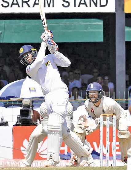 Sri Lanka's morning as England tail fails