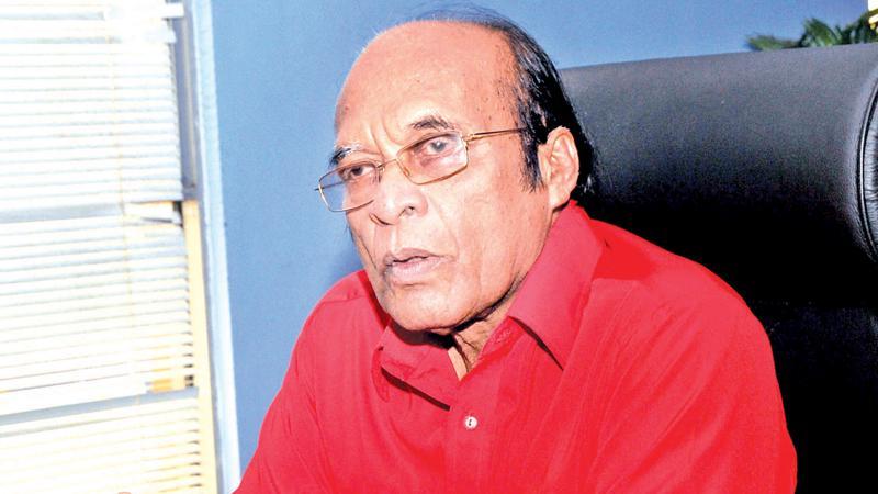 General Secretary, the Sri Lanka Communist Party and former Cabinet Minister DEW Gunasekera
