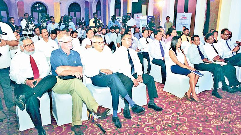 A section of the audience at the launch