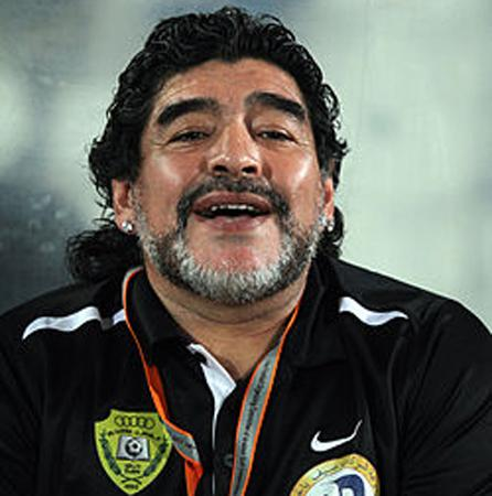 Furious Maradona