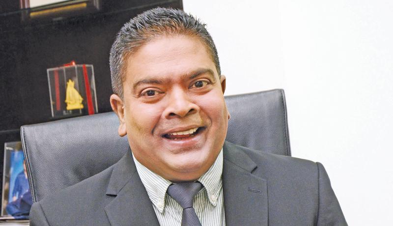 Nalin Perera, CEO Mobitel