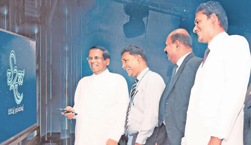President Maithripala Sirisena at the launch