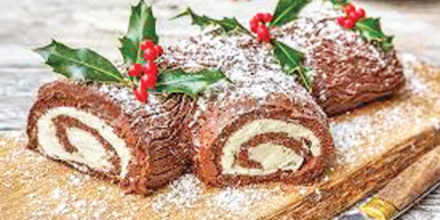 The Delicious History Of The Yule Log Sunday Observer