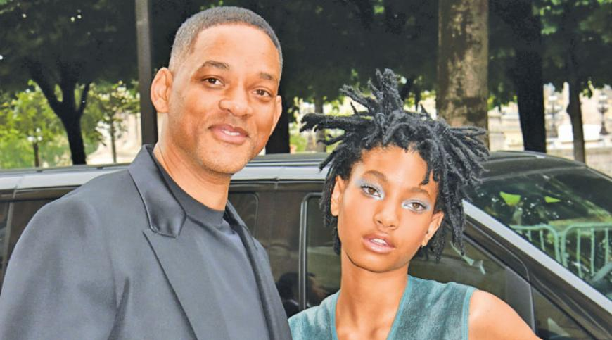 Willow and dad Will Smith