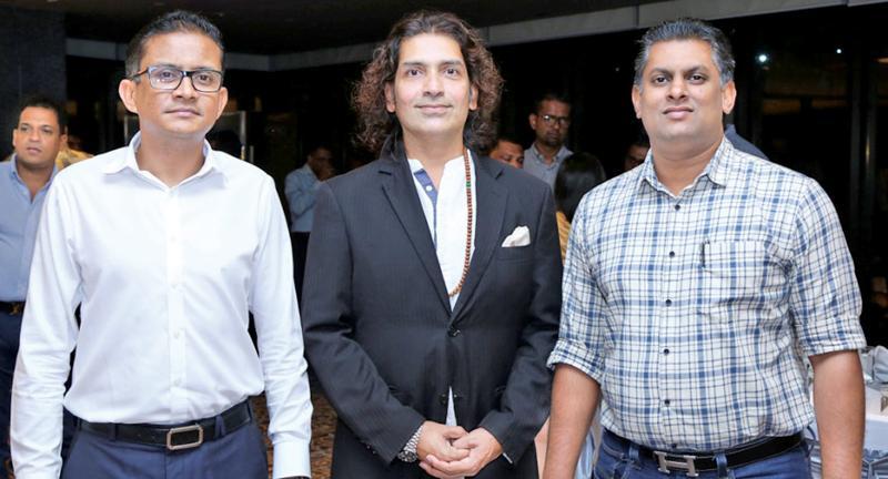 From left: Vice Chairman COYLE, Dinesh Jayawardana, Founder Managing Director of Spiritual Vacation Club,  Neil Misso D'Silva and  Chairman, COYLE, Dinuk Hettiarachchi.