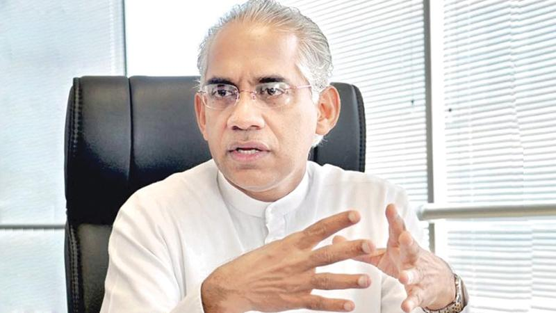 State Minister of Finance - Eran Wickramaratne