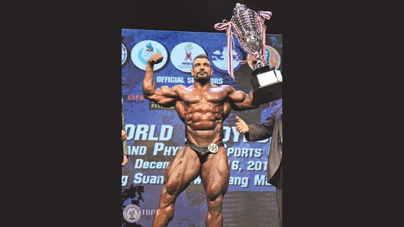 Lucien Pushparaj: Sri Lanka's first world gold winner