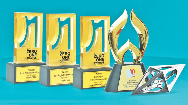 Digibrush clinches several awards