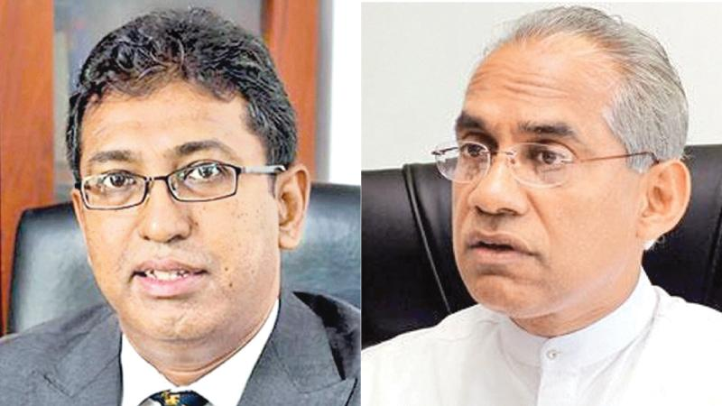 Dr. Harsha de Silva and Eran Wickramaratne
